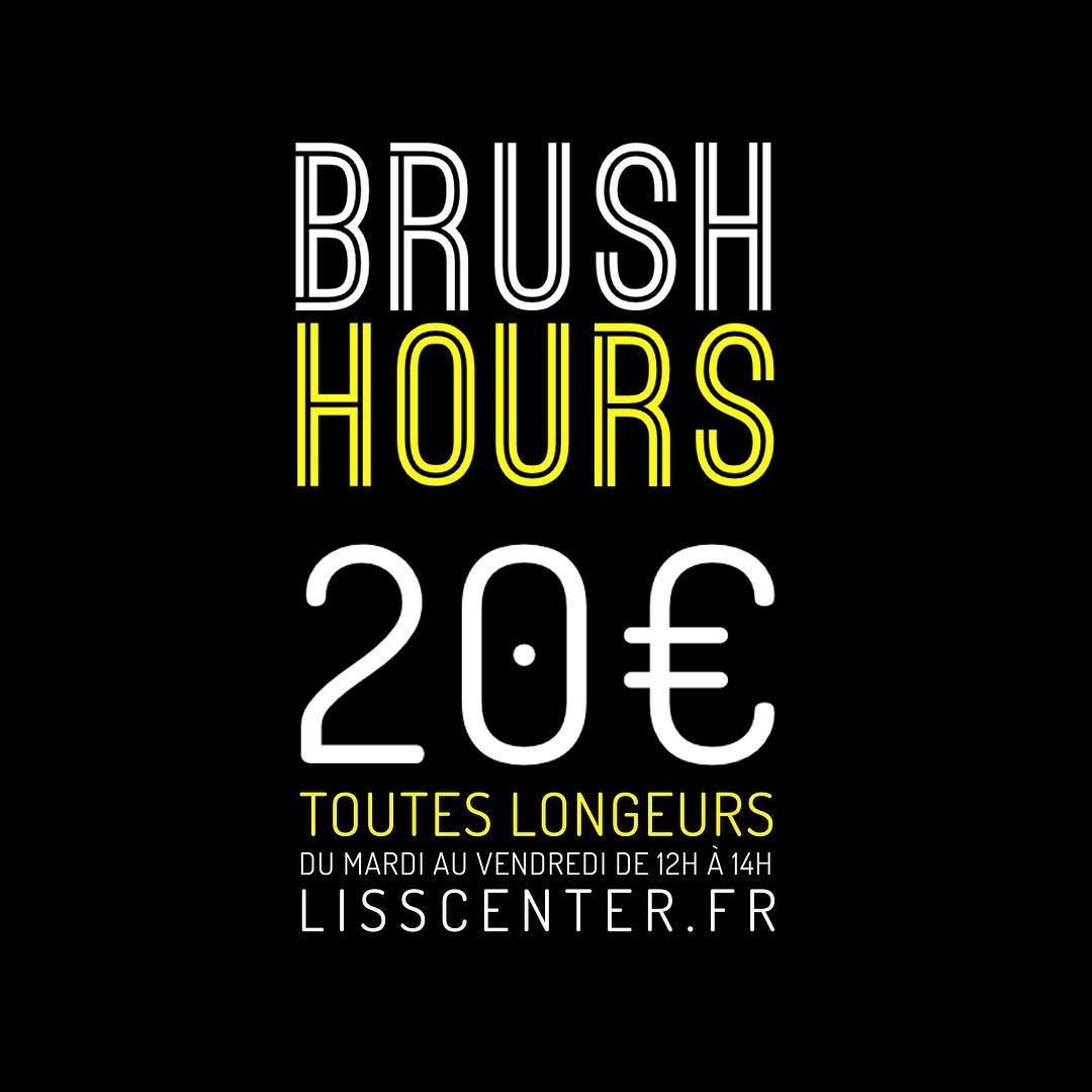 brush et brushing à lyon